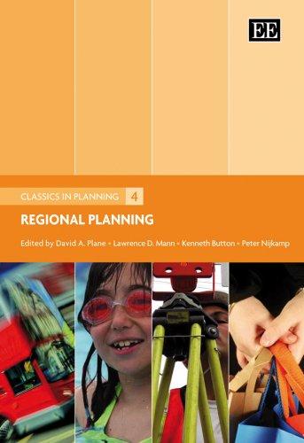 Regional Planning: Plane, David A. (EDT)/ Mann, Lawrence D. (EDT)/ Button, Kenneth (EDT)/ Nijkamp, ...
