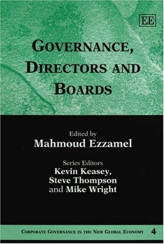 Governance, Directors and Boards (Hardback)