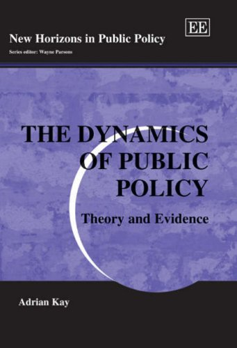 9781845421052: The Dynamics of Public Policy: Theory And Evidence (New Horizons in Public Policy)