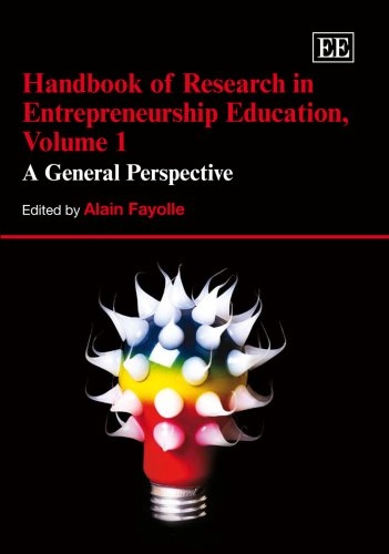 9781845421069: Handbook of Reseach in Entrepreneurship Education: A General Perspective (Research Handbooks in Business and Management Series)