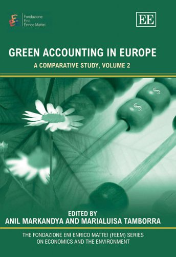 Green Accounting In Europe: A Comparative Study,