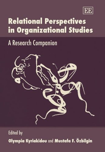 9781845421250: Relational Perspectives in Organizational Studies: A Research Companion