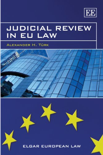 9781845422035: Judicial Review in Eu Law (Elgar European Law Series)