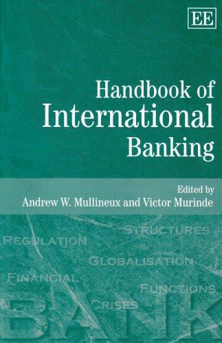 9781845422233: Handbook Of International Banking (Elgar Original Reference)