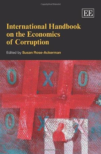 9781845422424: International Handbook on the Economics of Corruption (Elgar Original Reference)