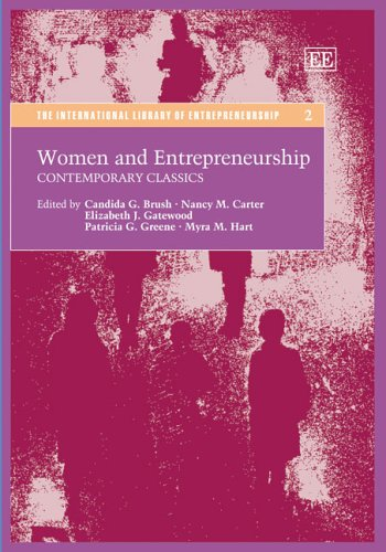 9781845422592: Women and Entrepreneurship: Contemporary Classics (The International Library of Entrepreneurship Series)