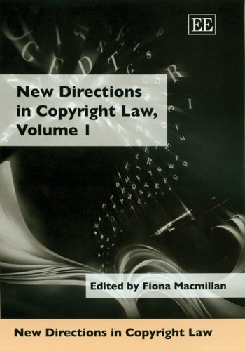9781845422608: New Directions in Copyright Law