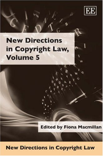 9781845422646: New Directions in Copyright Law