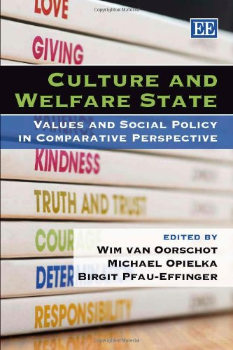9781845423896: Culture And Welfare State: Values and Social Policy in Comparative Perspective