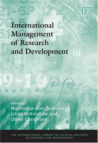 International Management of Research and Development (Hardback)