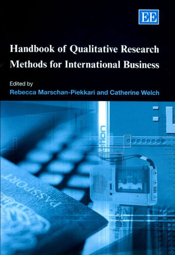Handbook of Qualitative Research Methods for International Business (Research Handbooks in Business...