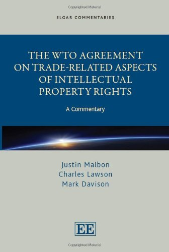 The WTO Agreement on Trade-Related Aspects of Intellectual Property Rights: A Commentary (Hardback)...