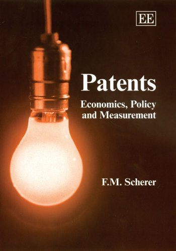 9781845424817: Patents: Economics, Policy And Measurement