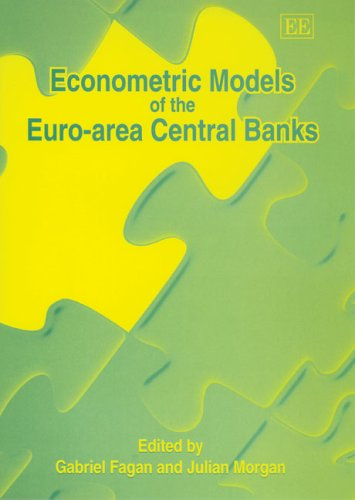 9781845424862: Econometric Models of the Euro-area Central Banks