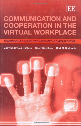 9781845425876: Communication And Cooperation in the Virtual Workplace: Teamwork in Computer-Mediated-Communication