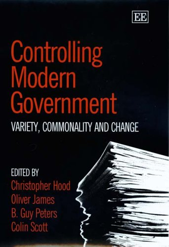 Controlling Modern Government: Variety, Commonality And Change: Christopher Hood