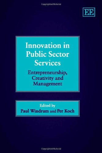 9781845426316: Innovation in Public Sector Services: Entrepreneurship, Creativity and Management