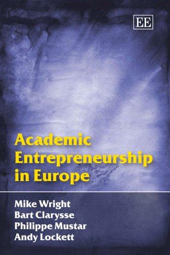 9781845426484: Academic Entrepreneurship in Europe
