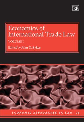 Economics of International Trade Law (Hardback)
