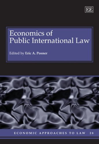 9781845427085: Economics of Public International Law (Economic Approaches to Law)