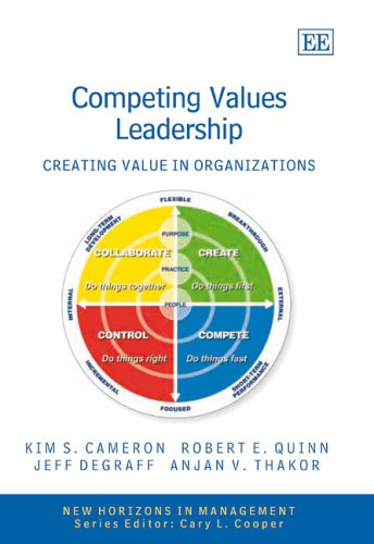 9781845427351: Competing Values Leadership: Creating Value in Organizations (New Horizons in Management Series)