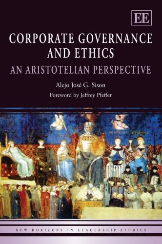 9781845427467: Corporate Governance and Ethics: An Aristotelian Perspective (New Horizons in Leadership Studies Series)