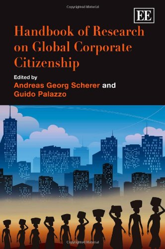 9781845428365: Handbook of Research on Global Corporate Citizenship (Elgar Original Reference)