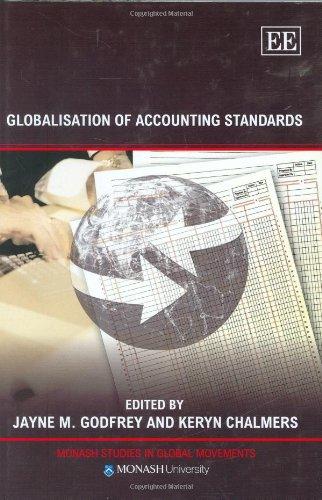 Globalisation of Accounting Standards (Monash Studies in: Editor-Jayne M. Godfrey;
