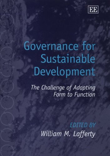9781845428570: Governance for Sustainable Development: The Challenge of Adapting Form to Function