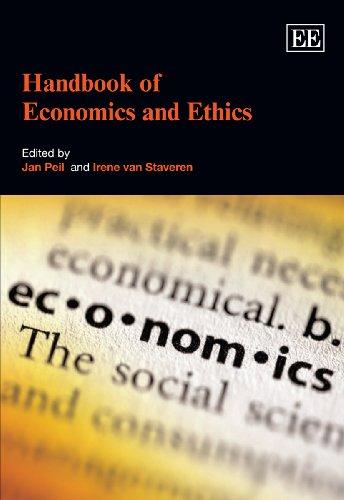 Handbook of Economics and Ethics: Jan Peil, Irene van Staveren