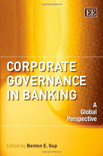 9781845429409: Corporate Governance in Banking