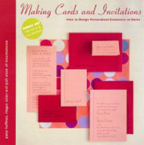 9781845430092: Making Cards and Invitations: How to Design Personalised Cards Stationery at Home