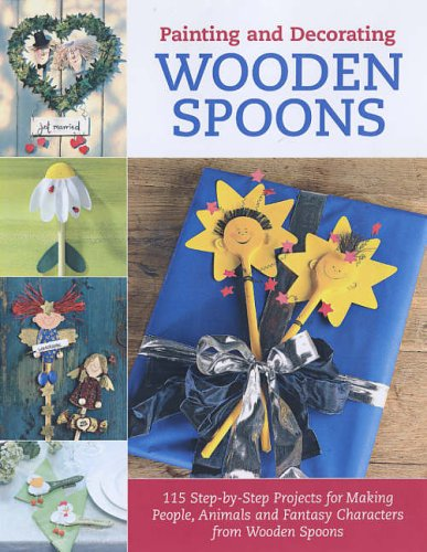 9781845430283: Painting and Decorating Wooden Spoons