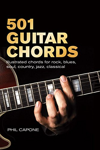 9781845431112  501 Guitar Chords  Illustrated Chords For Rock  Blues  Soul  Country  Jazz