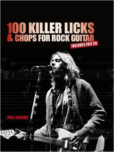 9781845433369: 100 Killer Licks and Chops for the Rock Guitar