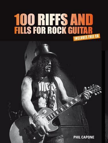 9781845434328: 100 Riffs & Fills for Rock Guitar