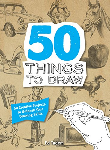 9781845435936 50 Things To Draw 50 Creative Projects To Unleash