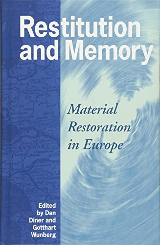 9781845452209: Restitution and Memory: Material Restoration in Europe