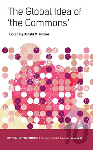 9781845454852: The Global Idea of 'The Commons' (Critical Interventions: A Forum for Social Analysis)