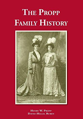 9781845496531: The Propp Family History