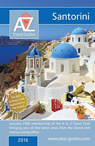 9781845496692: A to Z guide to Santorini 2016