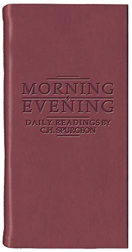 Morning And Evening - Matt Burgundy (Daily Readings) (9781845500146) by C. H. Spurgeon