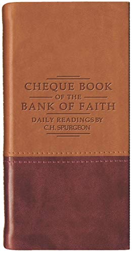 9781845500719: Chequebook of the Bank of Faith - Tan/Burgundy (Daily Readings)