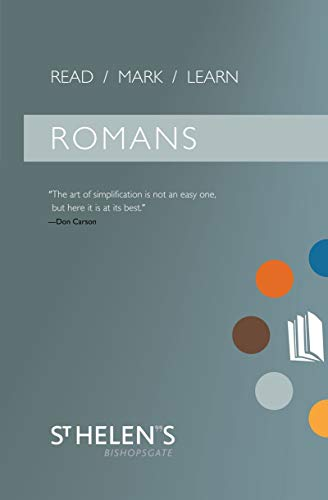 9781845503628: Read Mark Learn: Romans: A Small Group Bible Study
