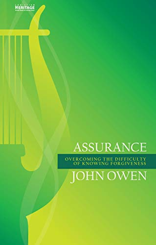 9781845509743: Assurance: Overcoming the Difficulty of Knowing Forgiveness