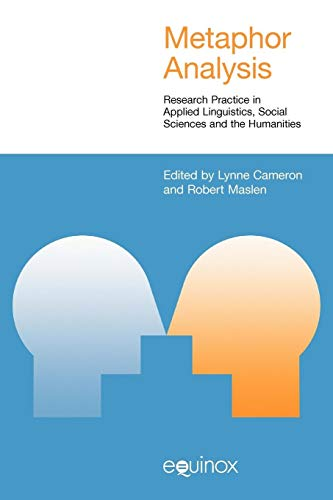 9781845534479: Metaphor Analysis: Research Practice in Applied Linguistics, Social Sciences and the Humanities (STUDIES IN APPLIED LINGUISTICS)