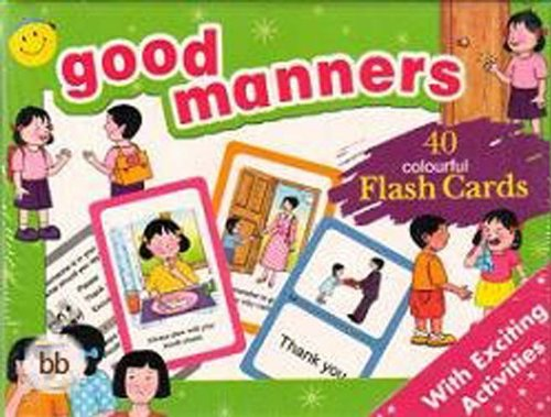 9781845571566: Good Manners Flash Cards