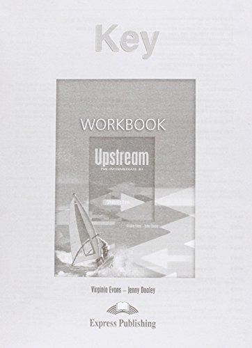 9781845581954: Upstream Pre-intermediate B1 Workbook Key