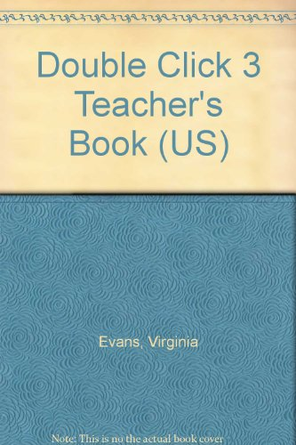 9781845587291: Double Click 3 Teacher's Book (US)
