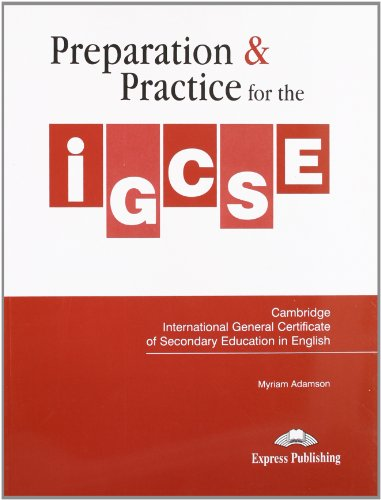9781845589066: Preparation & Practice for the IGCSE in English Student's Book